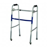 Vissco Dura Lite Walker with Wheel