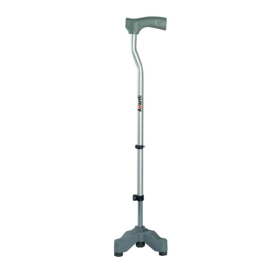 Vissco Invalid L-shape Tripod Walking Stick