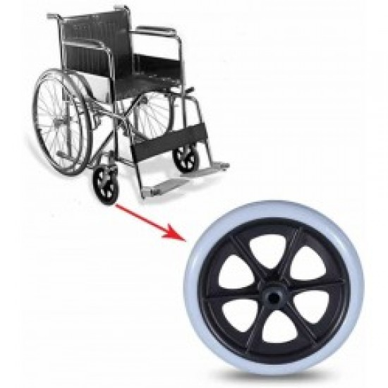 8 Quot Inch Wheelchair Front Casters 440 Front Caster Wheels
