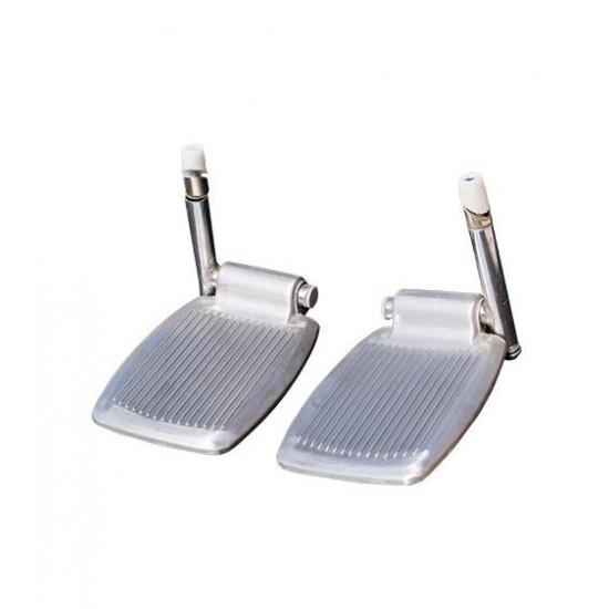 Wheelchair Footrest Complete Set